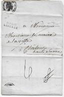Département HAUTE MARNE Marque Postale P 50 P / LANGRES 1807 Belle Entête Illustrée AIGLE MAIRIE De LANGRES - 1801-1848: Precursori XIX