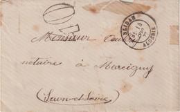 "FRANCE / ALGERIE : OBL . "" BLIDAH "" . POUR LA FRANCE . TAXE 40 . 1877 . - Ohne Zuordnung"