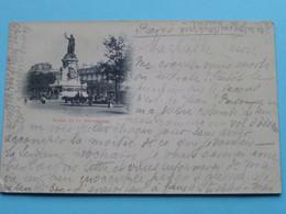 Place De La République () Melun > Anno 1897 > Dresden ( Voir / Zie Photo ) ! - Squares