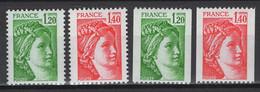 France: 1980. Y&T 2020. N° 2101/04 TP **, MNH, Neuf(s). TTB - Neufs