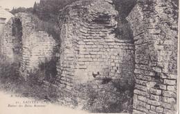 Saintes (17) - Ruines Des Bains Romains - Saintes