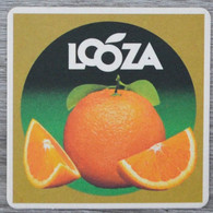 Sous-bock LOOZA (orange) Bierdeckel Bierviltje Coaster (CX) - Portavasos