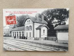 WASIGNY-Mézières–gare Du Chemin De Fer Départemental à Voix étroite De Mézières à WASIGNY - Autres Communes