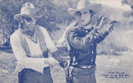 """Cowboy Movie Star TOM TYLER In """"Held Up By Bad Man"""" , 1930s - Acteurs"""