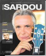 LIVRE + CD Michel SARDOU  Année 2004 (caisse Cd Sardou) - Other - French Music