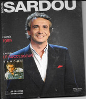 LIVRE + CD MICHEL SARDOU Année 1989 (caisse Cd Sardou) - Other - French Music