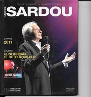 LIVRE + CD Michel SARDOU  Année 2011  (caisse Cd Sardou) - Other - French Music