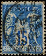 -Sage N°90 Ob  ( CAD ) PAU 1901. - 1876-1898 Sage (Type II)