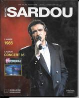 LIVRE + CD Michel SARDOU  Année 1985 (caisse Cd Sardou) - Other - French Music