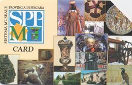 Sistema Museale Provincia Di Pescara 2004 (tirage 165000) - Öff. Werbe-TK