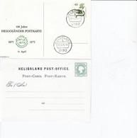 PP 69/15  100 Jahre Helgoländer Postkarte 1875 - 1975, Helgoland - Privatpostkarten - Gebraucht