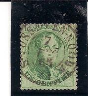13B AFSTEMPELING ST.JOSSE - 1858-1862 Medallions (9/12)