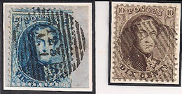 P123  A1 VERVIERS NR.14+15(fragment) - 1863-1864 Medallions (13/16)