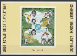 E 127A Genummerdt/ Avec Nummero Ligue Royale Belge D'Athlétisme/Koninklijke Belgische Atletiekbond ** - Erinofilia