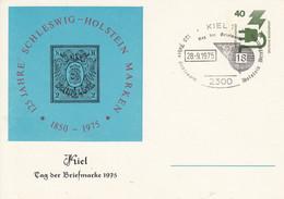 PP 69/29  125 Jahre Schleswig Holstein Marken 1850- 1975 - Kiel Tag Der Briefmarke, Kiel 1 - Postales Privados - Usados