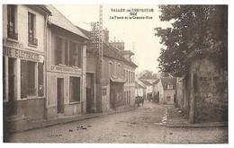 91 VALLEE DE CHEVREUSE GIF LA POSTE ET LA GRANDE RUE CPA 2 SCANS - Gif Sur Yvette