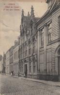 Ieper - Ypres / Hotel De Gand Et Rue Des Chiens --> Onbeschreven - Ieper