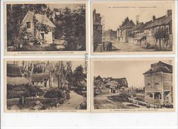 20 CPA - VEULES-LES-ROSES (76) Pleine Mer, Les Ruines, Le Pigeonnier, La Plage, Entrée Des Champs-Elysées 1850, Jardin - Veules Les Roses