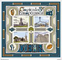 France 2020 - Capitales Europeennes - Dublin - Bloc Feuillet - Nuovi