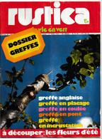 Rustica_N°170_ 1er Avril 1973_Dossier Greffes _à Découper : Les Fleurs D'été - Garden