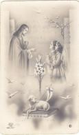 Santino Ricordo Della Prima Comunione - Palermo 1953 - Devotion Images
