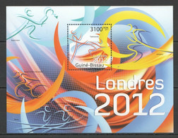 BC691 2011 GUINE GUINEA-BISSAU SPORT OLYMPIC GAMES LONDON 2012 BL MNH - Zomer 2012: Londen