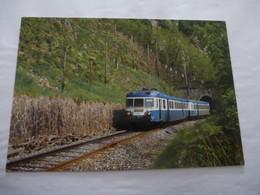 RETOURNAC (43) Autorail X 2842 Au Tunnel De Boutère Le 26 Mai 1996 Ligne St Georges D'Aurac - St Etienne - Retournac