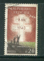 FRANCE-Y&T N°1264- Oblitéré - Gebraucht