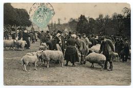 Cpa, 35. COUTANCES - Le Marché De La Croute. /969 - Coutances
