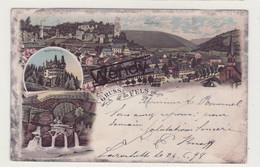 Fels (litho Gruss Aus Fels 1899) - Other