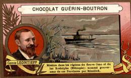 CHROMO CHOCOLAT GUERIN BOUTRON COMTE LEONTIEFF - Guerin Boutron