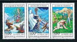 Andorra Francesa Nº 495A (unidos) Nuevo - Unused Stamps