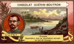 CHROMO CHOCOLAT GUERIN BOUTRON CUPET - Guerin Boutron