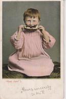 "UNITED KINGDOM - Humour - ""Real Jam - I"" - VG Liverpool Postmark 1902 - Child With Food - Humour"