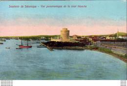 SALONIQUE  Souvenir De Salonique  Vue Panoramique De La Tour Blanche - Greece