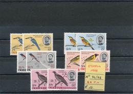 ETIOPIA- 1966 N° P.A. 94/98 MNH - Altri