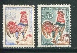 FRANCE-Y&T N°1331 Et 1331A- Oblitérés - Gebraucht
