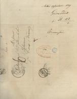 Facture  1847 Envoyée De  Autun   à Latune   Par Girardot  Libraire Et Imprimeur - Unclassified