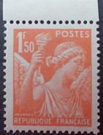 R1098/136 - 1941 - TYPE IRIS - N°435a NEUF** BdF ➤➤➤ FAUX DE L'INTELLIGENGE SERVICE (voir Info. Ci-dessous) - 1939-44 Iris