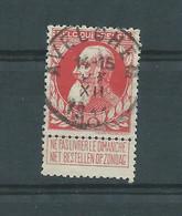 N° 74 OBLITERE AVELGHEM - 1905 Thick Beard