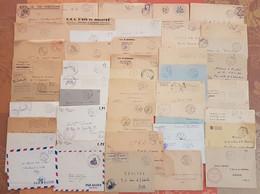 Algerie Française - Lot De 50 Lettres En Franchise Militaire - DEPART 1 EURO - Années 1957-1962 - Cartas