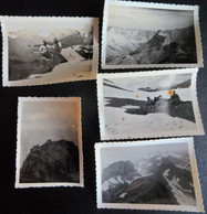 Photos Originales Pic De Coutendé 1935 Lac D'Estaens 1935 Et Autres - Places