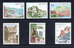 Monaco   Y&T   986 - 991   XX   ---   Sites Et Monuments   --  Impeccable. - Unused Stamps