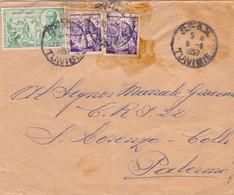 1957 Lettera  Da TUNISI  Per  - Palermo - 1971-80: Marcofilia