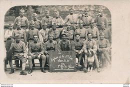 Carte-Photo - Portrait Groupe Militaire - 7ème Régiment De Génie (1922-1923) - Guerra, Militares