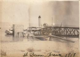 Photo 1918 SAINT-BREVIN-LES-PINS - L'embarcadère De Mindin (A225, Ww1, Wk 1) - Saint-Brevin-les-Pins