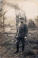 Cpa Carte Photo Capitaine Du 201e Régiment D' Infanterie Bordeaux, Livry Sur Seine 1915 - Guerra 1914-18