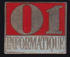 68851-Pin's. Le Groupe Tests. Presse. 01 Informatique - Informatik