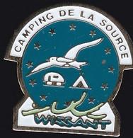 68861-Pin's.Camping Municipal De La Source à WISSANT .Pas-de-Calais - Villes