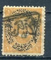 Postmark In Arabic On Ottoman 1 Pi. Stamp. Turkey - Unclassified